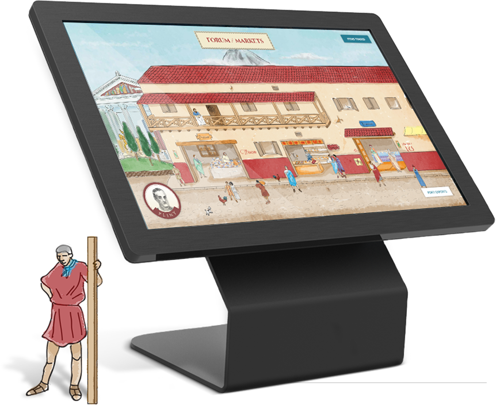 Interactive Touchscreen Kiosk